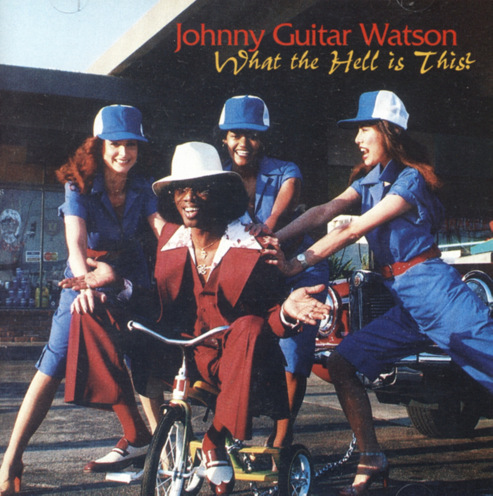 Johnny Guitar Watson What The Hell Is This Soul Ebay