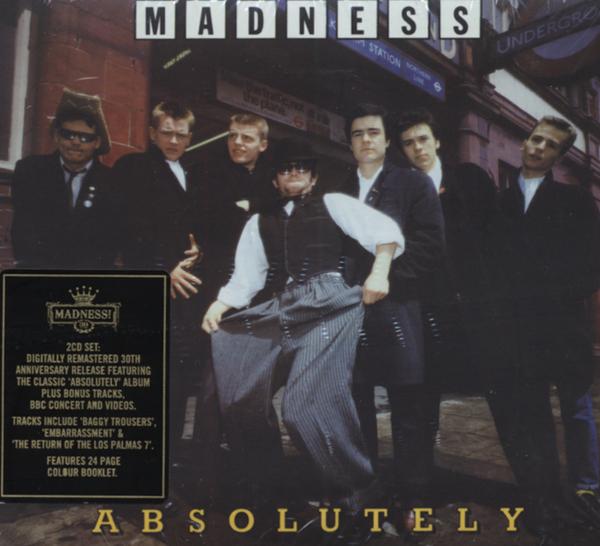 Madness Absolutely 2 Cd Reggae Ska Rocksteady Ebay