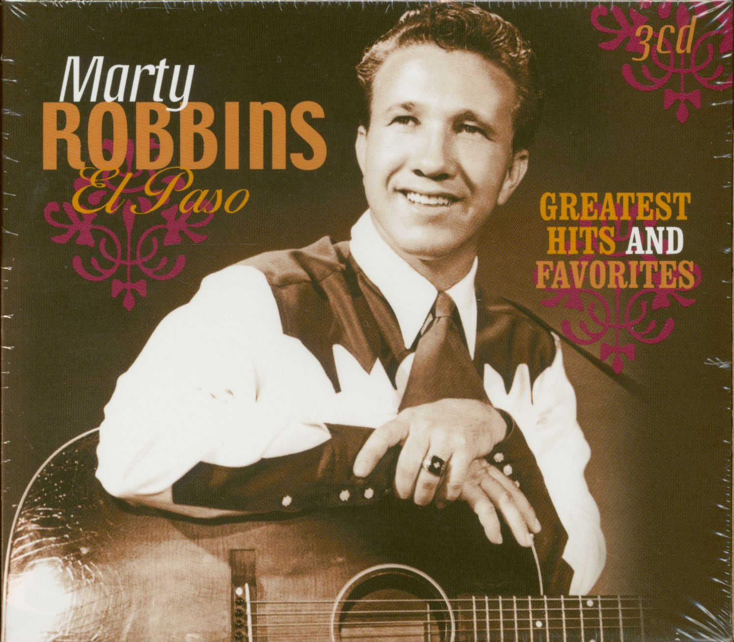 Marty Robbins - El Paso - Greatest Hits And Favorites (3-CD) - Classic  Countr...
