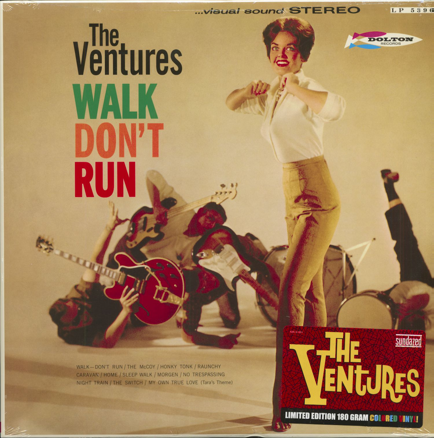The Ventures Walk Don T Run 1960 180g Limited Edition