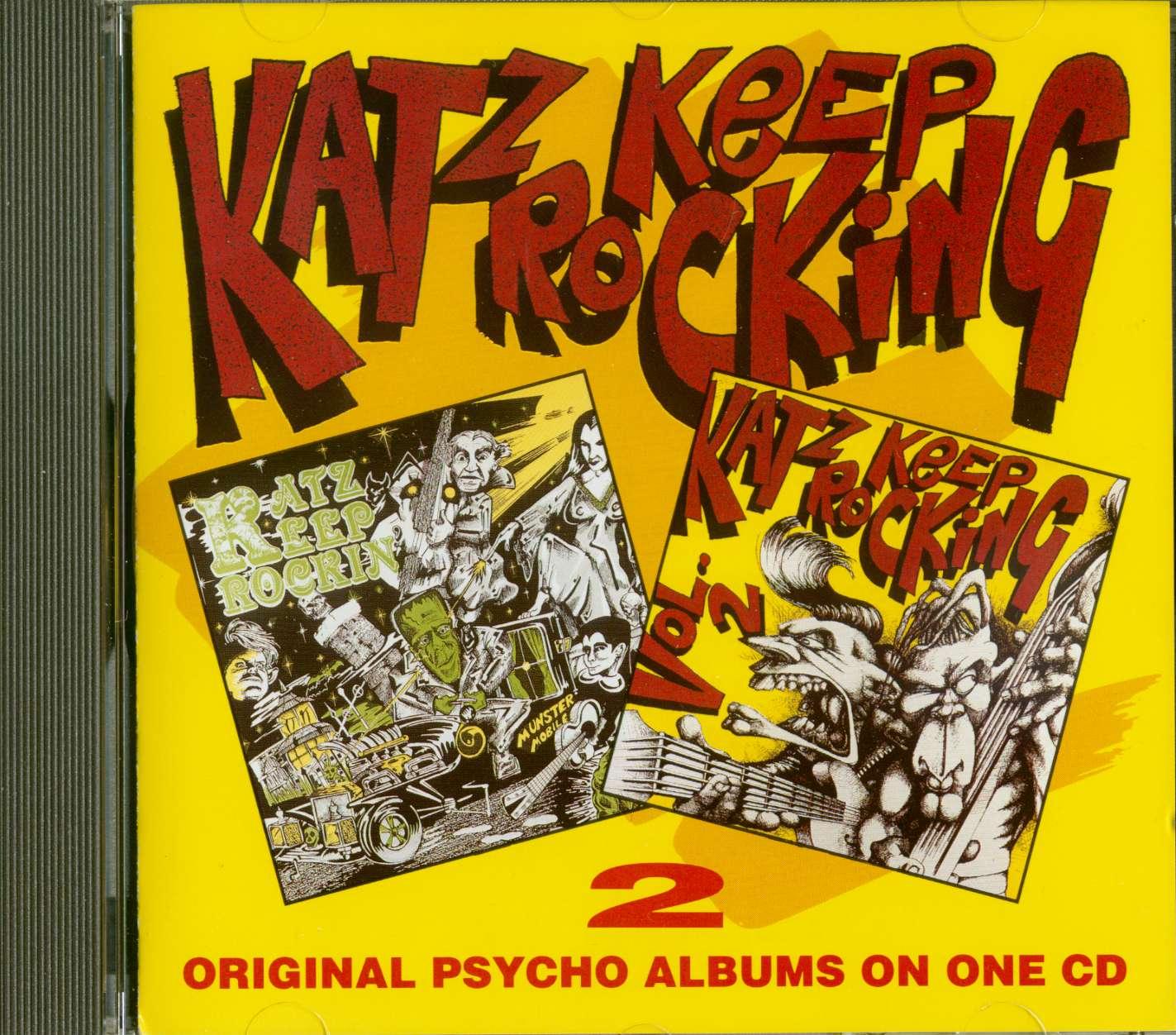 Various Katz Keep Rockin Volumes 1 Amp 2 Cd